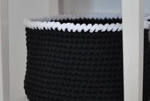 Crochet baskets / Ideas for crochet