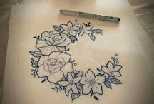 Flower & Roses Tattoo