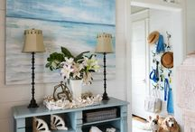 Interior Design for August / Bringing Jersey into the house, reflecting the fab little lsland we live in