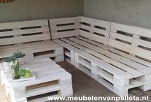 Loungebank pallets
