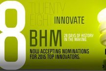 28 Innovate 2015 / February is Black History Month. It's a month where we typically honor those from the past who have made an impact on American culture for equal rights, those who have invented, those who have a helped others and those who have inspired everyone to be the best they can be. 28 Innovate applies a new twist by highlighting innovators and difference makers who are making an impact – and changing history – today.