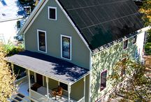 Mission Zero House: Net Zero Energy Home Retrofit / Photos from America's Oldest Net Zero Energy Home.  The 113-year-old home produces more energy than the Grocoff family consumes.  It is registered for the Living Buildings Challenge.  With the help of the students from the University of Michigan BLUElab, the home hopes to achieve Net Zero Water.