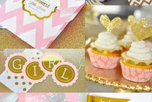 Girl baby shower ideas PINK