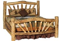 Log Bed Design (How To Build) / If anyone could have the bed of their dreams, the world would be a much better place; simply because we will have the sleep we always wished for!