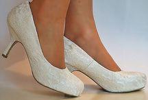 Wedding mid heels shoes