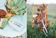 The Wild Rose wedding chairs / Gorgeous chair floral decor