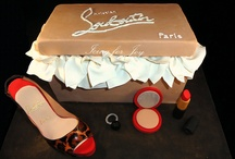 Louboutin shoe cake / by Fancy Fondant Cakes by Emily Lindley