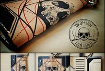 tattooed leather