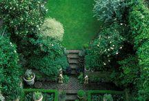 Small English gardens