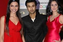 Ranbir-Katrina-Deepika The Love Trio / A lonely Ranbir might need a shoulder to cry on, and Deepika would be more than happy to offer one