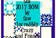 Sew Incredibly Crazy and Friends Block of the Month / The annual Sew Incredibly Crazy and Friends Block of the Month.  All the blocks are free for the month they have been released.