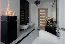 Biokominek w łazience
