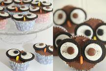 Owl cupcake