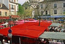 PARIS MARKETS / The food, clothes and antique markets of #Paris capture the heart of #Parisian living so beautifully