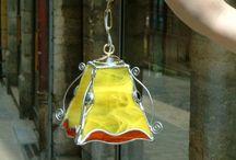 vitrail lampes