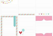 Project life printables and ideas / Links to printable journal cards and filler cards for Project Life, tutorials, photo ideas / by Nicole