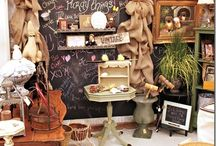 Flea market booths / by Connie Wood
