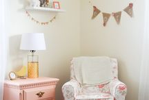sophias room pink and gray