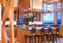 Kitchen design / by Heidi Horrocks
