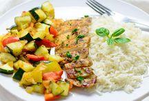 Chicken with Summer Vegetables Recipe