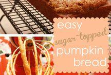 Fall / Pumpkin bread recipe / by Sarah Dimock