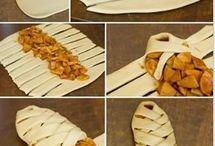 pão decorado/modelo para torta
