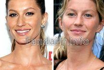 celebrity no makeup