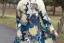 Free Form Crocket / Free Form Crocket tutorials, shawls, coats