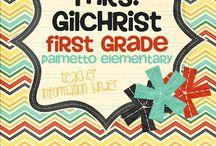 1st grade ideas / by Lauren Markham