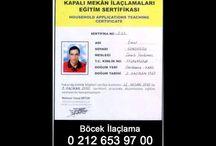 böcek ilaçlama servisi  05356405456