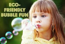 Eco friendly bubbles
