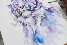 Painting illustrations
