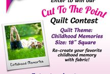 "Quilt Contest! / Havel's Sewing presents, ""Cut It Close"" Quilt Contest / by Havel's Sewing"
