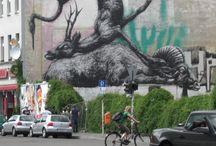 ART - Murals / Wandbilder, wall paintings