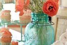 Vintage Ideas / Centerpieces, table settings and vintage décor for your wedding