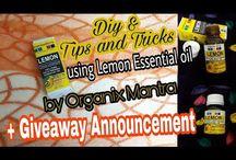 benefits of lemon essential oil, diy and tips & tricks