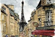 Arts Paris / Tout les arts à Paris, France #dessin #france #paris #peinture #painting #watercolor #aquarelle #croquis #carnet #art #artiste #peinture