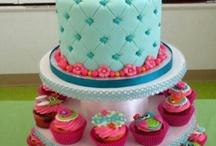 torta di zucchero con i gufi