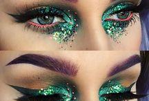 farvet makeup