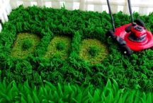 Lawn Mower Cake Ideas