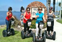"Segway to Heaven / Forget fashionable. Segway tours can be a fun, new way of exploring a destination, sort of a ""don't knock it until you've tried it"" kind of thing. And admit it -- you want to try it. These travelers are parading the streets with pride! / by TripAdvisor"