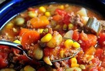 soups / by Melinda Carron