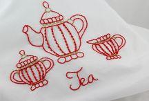 Tea / Stitchery