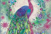 Celebrating Peacocks / Anything to do with peacocks, including art, home decor, jewelry, and miscellaneous accessories.