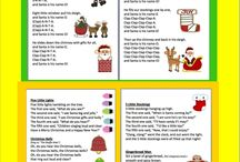 Christmas songs poems