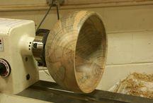 Turned Wood - in progress