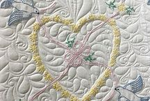 Hand Embroided Quilt