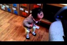 Baby dancing Psy Gentleman