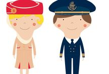 Little Travellers / Inspire the greatest imaginations with our collection for young adventurers. Choose from collectable magnets, note books, back-to-school gear and more. They all feature colourful cartoons of our planes, pilots and crew.