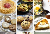 Quick Breakfast Ideas / A board dedicated for grab and go breakfasts